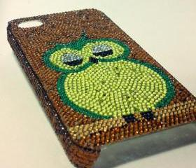 Owl cell phone case bling case